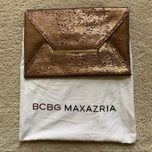 BCBGMaxAzria sequined clutch